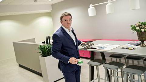 Toppsjefen i Aker BP, Karl Johnny Hersvik, er komfortabel foran møtet med investorer og analytikere mandag ettermiddag. Selskapet har hatt eventyrlig kursutvikling på Oslo Børs det siste halvåret.