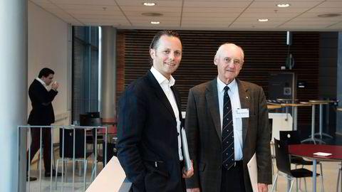 Familien til Wilhelm og Thomas Wilhelmsen kontrollerer rundt tre fjerdedeler av Wilhelmsen-gruppen og vil fusjonere den største delen med svenske Wallenius.                    Foto: Per Ståle Bugjerde