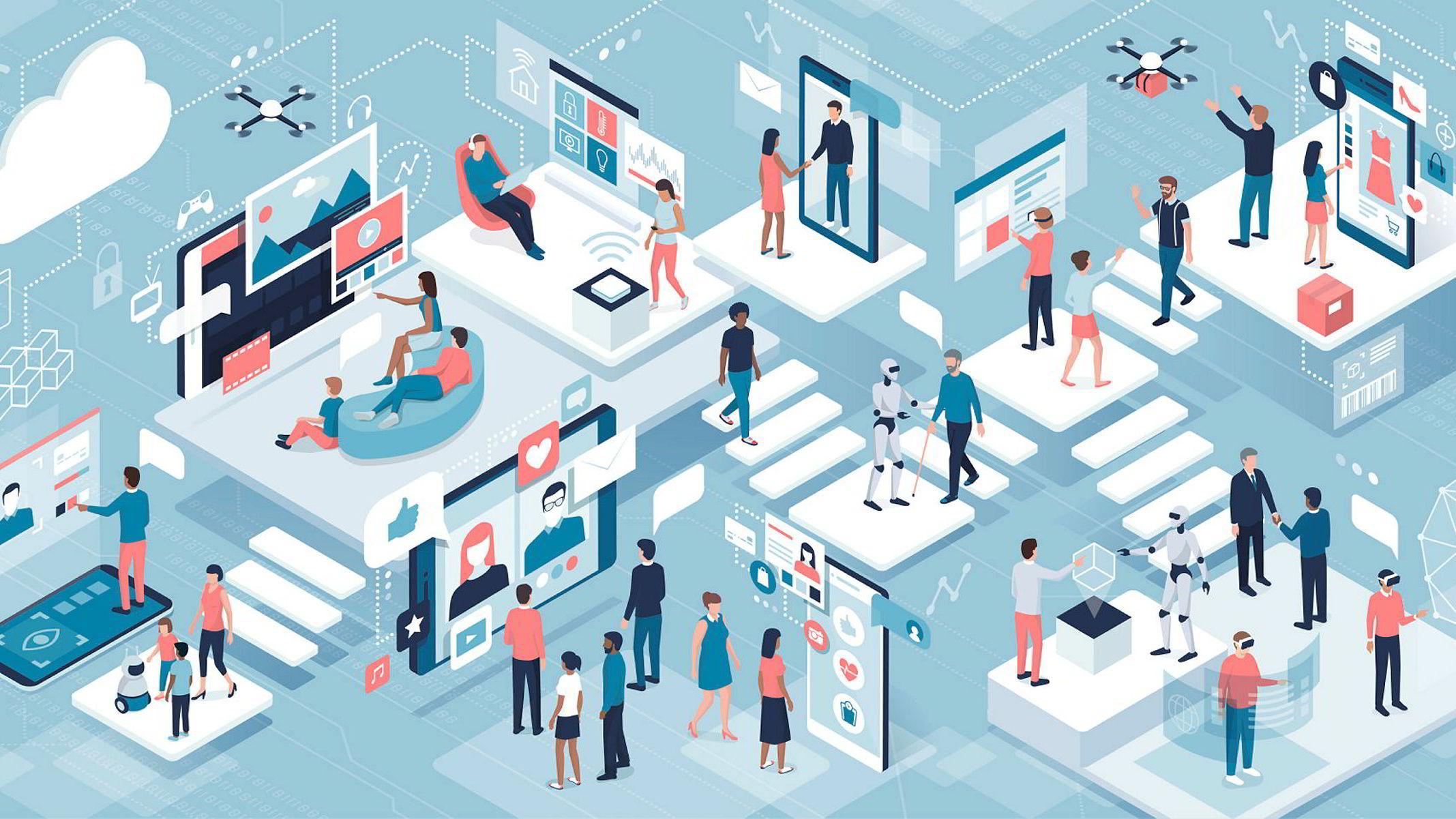 Raske, teknologidrevne endringer tvinger mange bedrifter til å samarbeide om nyvinninger for å kunne henge med. Det er en krevende balanse, særlig når samarbeidspartnerne er konkurrenter, skriver artikkelforfatteren.