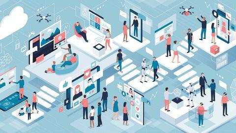 Vi er på vei mot et samfunn der vi alle er leilendinger i et digitalt føydalsamfunn, skriver Robert Steen.