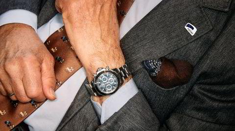Ekte kjærlighet? Herman Friele har hatt en haug av klokker siden han fikk farens gamle Longines. Han har aldri turt å sjekke om en cruisetur-kjøpt Rolex Daytona er ekte.