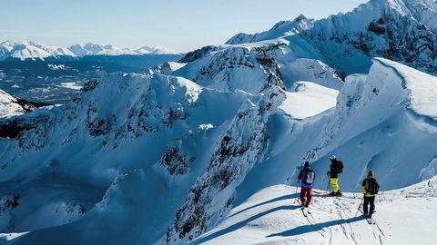 Alene på toppen. Skiterrenget ved Hankin Evelyn rundt Hudson Bay Mountain (2589 m.o.h.) er vilt og lite utforsket. Her finnes utrolige muligheter for skiturer – uten fare for trengsel