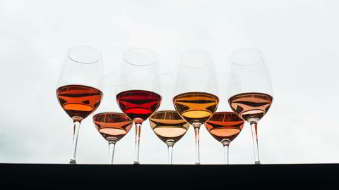 Favoritter. Rosévin kan fås i alle kvaliteter og nyanser, og vinen er på vei opp blant nordmenn.