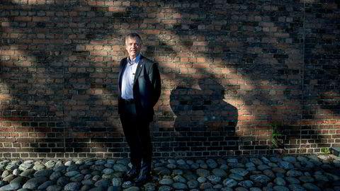 Petter Moe, programdirektør i Forsvarsmateriells program for militær anvendelse av skytjenester.