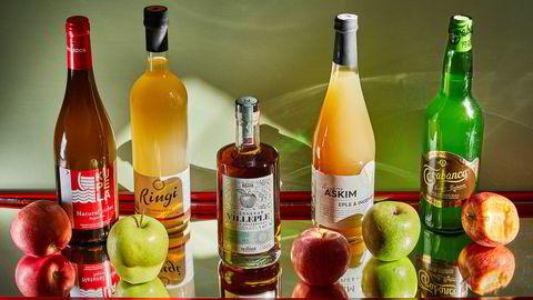 Norske og internasjonale nyheter hvor eplesmak er kjernen. Blant annet den norske eplebrandyen Kjernekar Villeple.