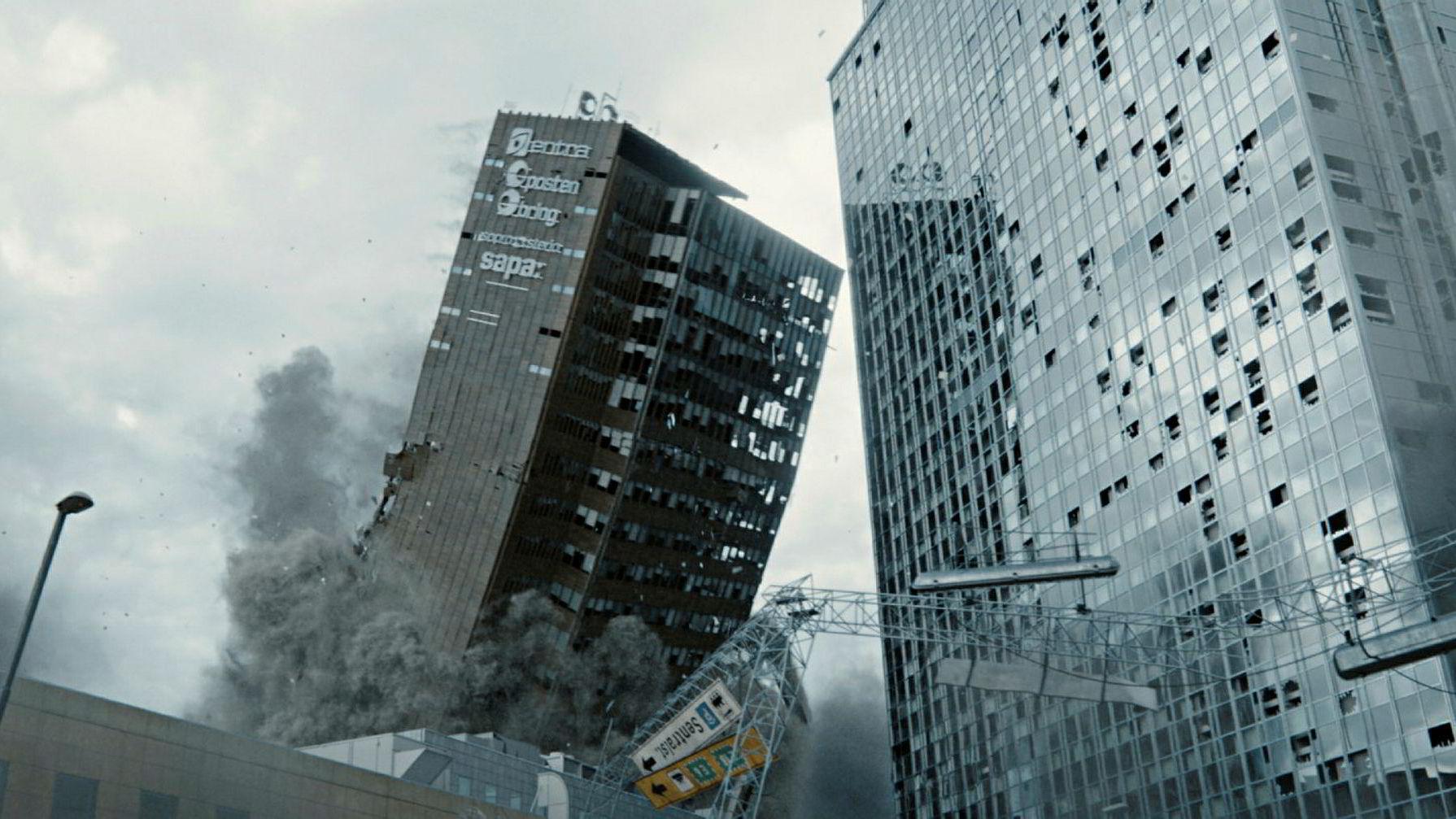 Katastrofefilmen «Skjelvet» er en av storfilmene bransjeorganisasjonen Film & kino spår kan gi et rekordartet år for norske filmer på kino.