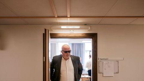 Tore Ivar Slettemoen tapte kampen om en tredjedel av aksjene i Norges største private vindkraftutbygger, Norsk Vind Energi, i Gulating lagmannsrett. Her er han fotografert under en pause under første runde av saken i Stavanger tingrett.