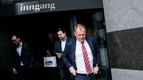 Lars Christian Bacher, finansdirektør i Equinor, går nærmest på dagen fra selskapet hvor han ville ha toppjobben.