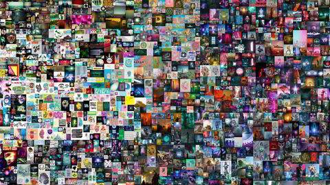 Auksjonshuset Christie's holder digital NFT-auksjon. Startprisen på «Everydays: The first 5000 days», som består av en bildecollage med 5000 bilder, var på 100 dollar. I løpet av en time hadde prisen passert en million dollar. Tirsdag morgen er høyeste bud tre millioner dollar.