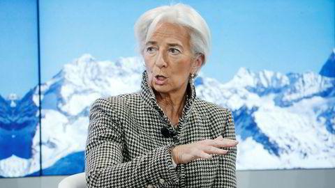 Den nye ESB-sjefen Christine Lagarde mener at land med rom i budsjettet ikke har gjort den nødvendige innsatsen i årene etter gjeldskrisen for ti år siden.