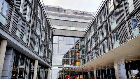 Radisson Blu Airport Hotel Gardermoen har utmerket beliggenhet, men bærer preg av slitasje
