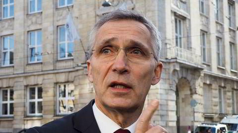 I en uttalelse fra Nato natt til fredag uttrykker generalsekretær Jens Stoltenberg bekymring over den tilspissede situasjonen i Idlib-provinsen i Syria.