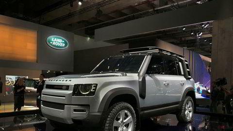 Land Rover Defender ble presentert i Frankfurt høsten 2019. Bilen kommer til Norge før sommeren.