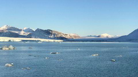 Fysiske prosesser i iskantsonen skaper den store biologiske aktiviteten som er begrunnelsen for iskantsonen som et særlig verdifullt og sårbart område, skriver artikkelforfatterne. Her fra Kongsfjorden ved Ny-Ålesund på Svalbard.