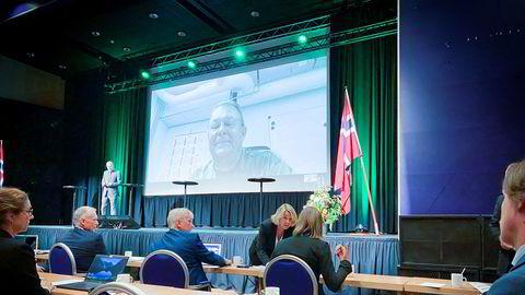 Justisminister Monica Mæland deltok onsdag på Totalforsvarets cybersikkerhetskonferanse hvor hackerangrepene mot Stortinget og norske kommuner var et hett tema.