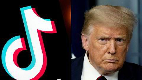 Donald Trump signerte to presidentordre for å få Bytedance til å selge TikToks amerikanske gren til et amerikansk selskap i august.
