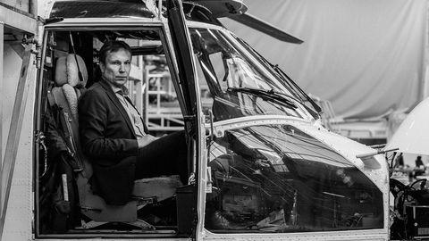 Sjefen. Arne Roland ble sjef for Helikopter Service ved Stavanger i 2012. For ett år siden stod han midt oppe i en økonomisk krise da det verst tenkelige skjedde med et av hans helikoptre.