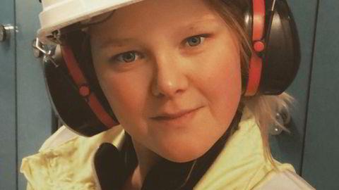 Hege Austeng er én av få kvinner med yrkeskompetanse i maritime fag.