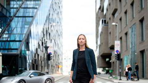 Sjeføkonom Kjersti Haugland i DNB Markets venter ikke reallønnsvekst i år.