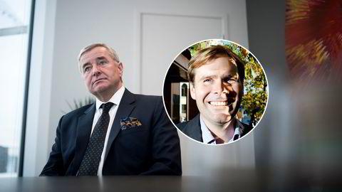 Christen Sveaas og Tor Svelland (innfelt). Bildet av Svelland er fra 2010.