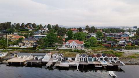 Haldenveien 99 på Snarøya i Bærum eies av John Magne Swift Hammervoll og ble kjøpt med blankoskjøte. Hammervoll har nylig fått en verdivurdering av eiendommen på 110 millioner kroner.