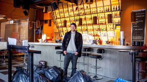 – Det minste stedet har vi fått utsettelse på 400.000 kroner i skatter og avgifter. Den største virksomheten er beløpet det dobbelte, sier Paal Mangerud, medeier i utelivsbransjen i hovedstaden blant annet av baren «Internasjonalen».