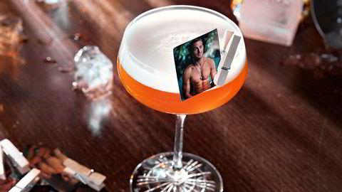 Bilde tå'n Ryan. Rye & Gosling er en lekker drink, og mange synes pynten gir det lille ekstra.