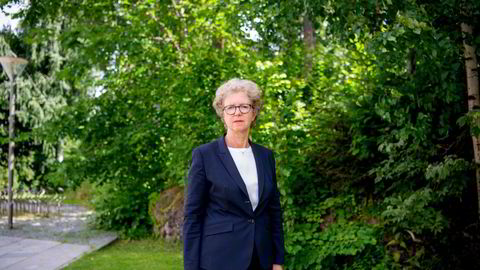 Konsernsjef Hilde Merete Aasheim i Norsk Hydro, som fredag la frem kvartalstall for andre kvartal av 2021.