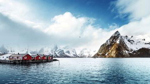 Det kan bli folksomt her i Lofoten denne sommeren også, her fra Reine.