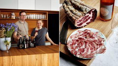Kaffe, te, vin? Sverre Bøyum og Susanne Martens Låstad åpner vincafeen Pillefyken, som serverer lette retter og drikke med og uten alkohol kun på dagtid.