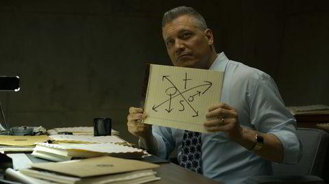 Holt McCallany overbeviser som FBI-etterforsker Bill Tench i «Mindhunter».