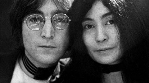 Tospann. I 1971 utga John Lennon sitt andre soloalbum, «Imagine», hvor også kona Yoko Ono ble kreditert som medprodusent.