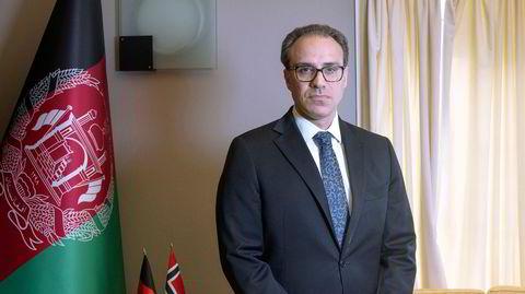 Afghanistans ambassadør i Norge, Youssof Ghafoorzai. Portrettet til Magasinet.