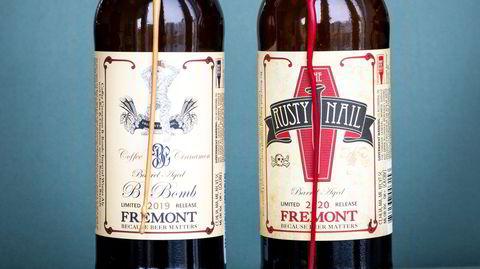 Eksklusive øl fra Fremont Brewery i USA