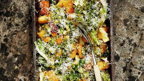 Glutenfri. Potetmel er den hemmelige ingrediensen som gjør gnocchien både glutenfri og lett å jobbe med.