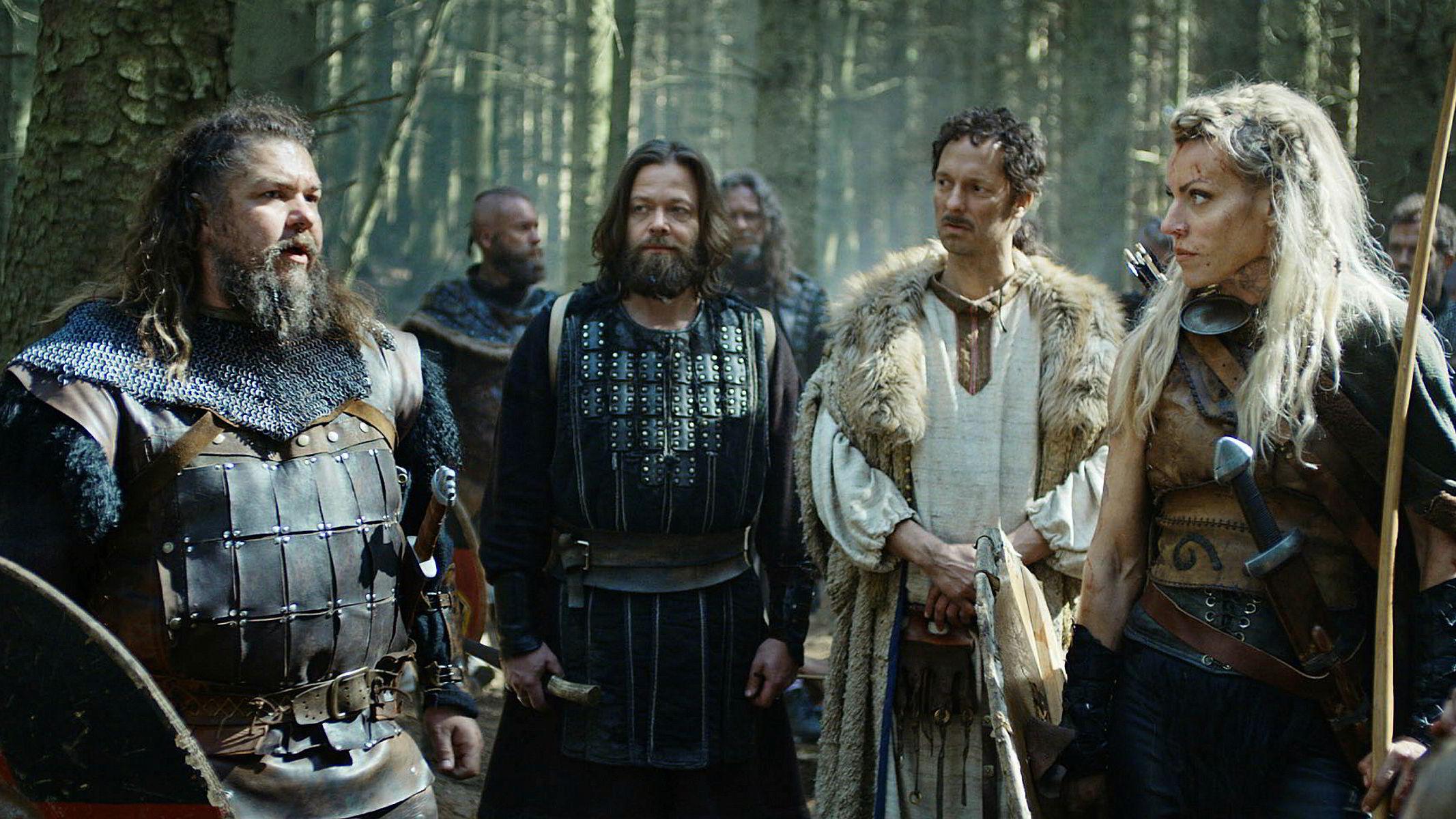 Disney henger et godt stykke bak Netflix-maskineriet. Her fra NRK-serien «Vikingane» som er tilgjengelig på Netflix.