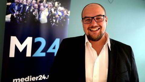 Erik Waatland tar over som sjefredaktør i Medier24.
