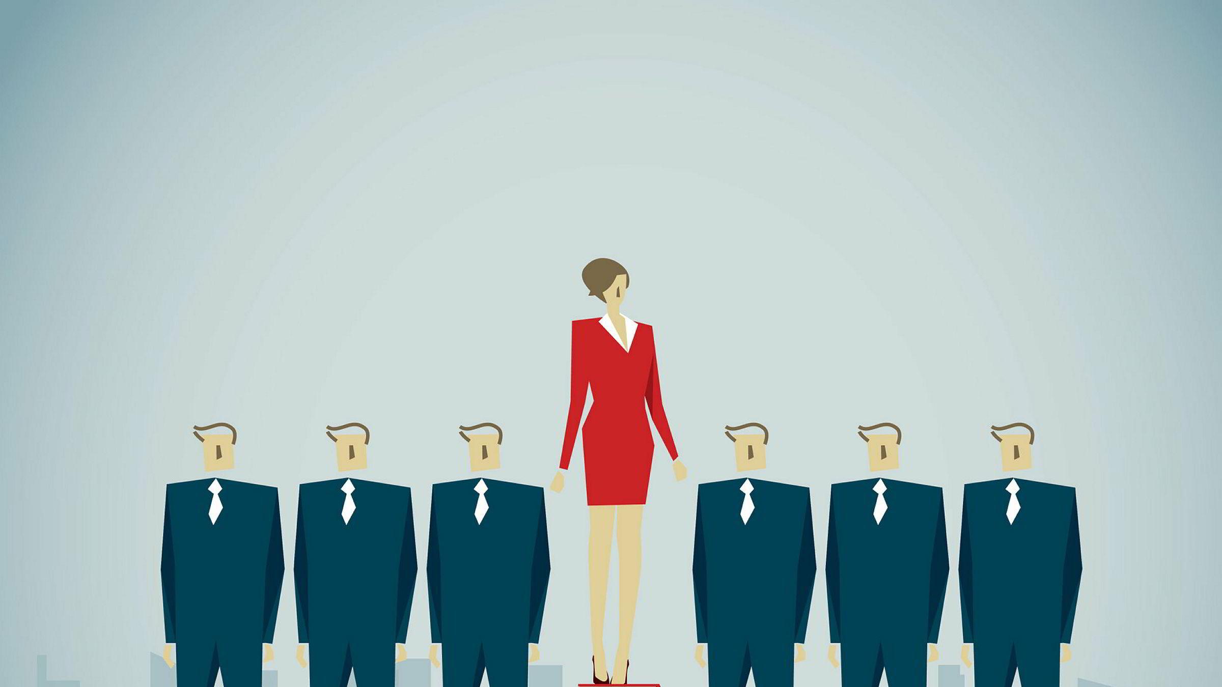 Skal en kvinne oppnå noe må hun ville det, stå på og gjøre en god jobb. Kvinner kan ikke basere seg på at noen andre skal hjelpe dem frem, skriver artikkelforfatteren.