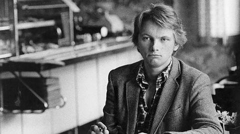 Jan Eggum i 1982, året han ga ut det Paul McCartney-aktige mesterverket «Alarmen går». Nå er trubaduren ute med sine interessante memoarer.