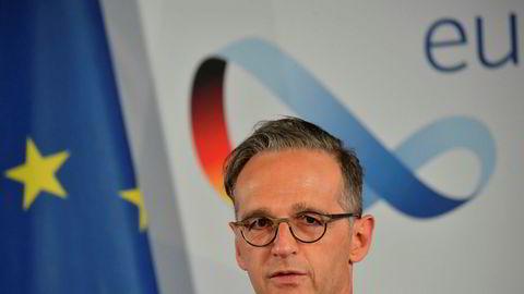 Norges utenriksminister samarbeider tett med Tysklands utenriksminister Heiko Maas.