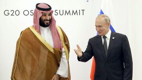 Kan enighet mellom Russlands Vladimir Putin og Saudi-Arabias Mohammad bin Salman være nok til at amerikanske skiferprodusenter tjener penger? Det er blant temaene i Siste episode av Finansredaksjonen.