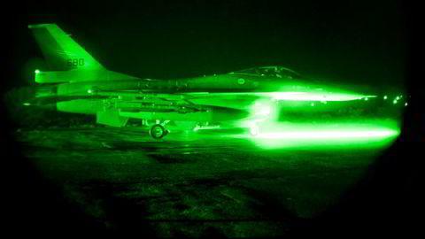 Norske kampfly slapp 588 bomber under Nato-operasjonen i Libya, som ble innledet i mars 2011.