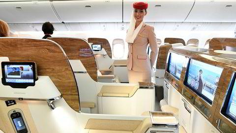 Emirates Airlines må kutte ned på Oslo-ruten sin i vår og sommer.