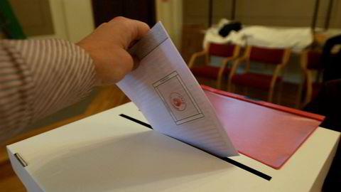 Den norske valgordningen skal moderniseres. Et utvalg har levert forslag til nye valglov