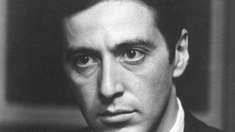 Skuespiller Al Pacino som Michael Corleone i filmen «Gudfaren» fra 1972. «It's not personal, Sonny. It's strictly business».