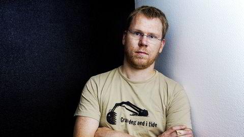 Jens Egil Heftøy var daglig leder i Skup frem til de økonomiske mislighetene ble oppdaget.