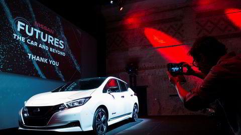 I oktober i år viste Nissan den nye Leafen på Dogai Oslo.