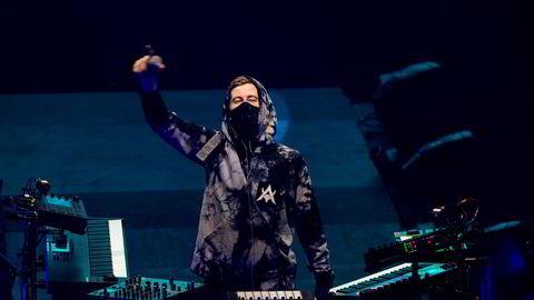 Alan Walker mer enn doblet omsetningen i 2019. Her fra konserten i Oslo Spektrum i november.