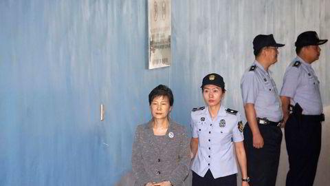 Tidligere president i Sør-Korea Park Geun-hye.