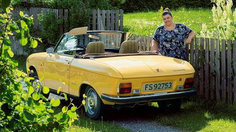 Mitt kjøretøy med Tonje Ofstad-Pettersen og hennes Peugeot 304 Cabriolet.